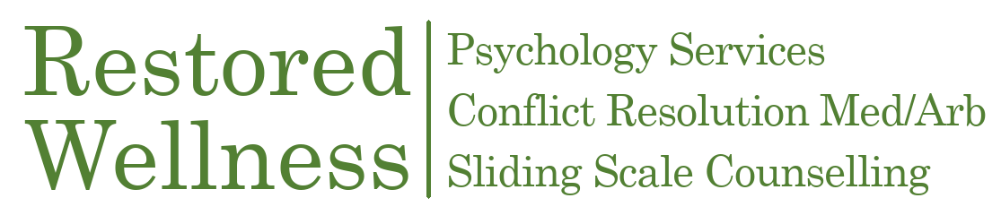 Welcome to Restored Wellness Psychology & Counselling Centre